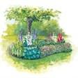 База отдыха Стерж - иконка «сад» в Марево